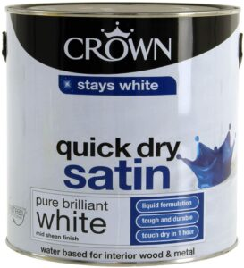Crown Quick Dry Satin