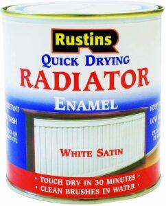 Rustins Quick Drying Radiator Enamel