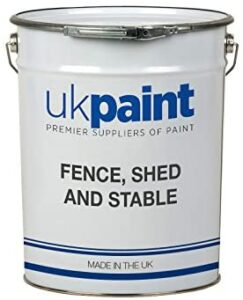 UK Paints Water-Based Shed & Fence