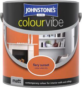 Johnstone's Colour Vibe Matt Emulsion