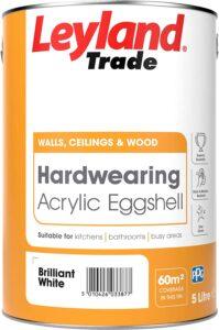Leyland Trade Hardwearing Acrylic Eggshell